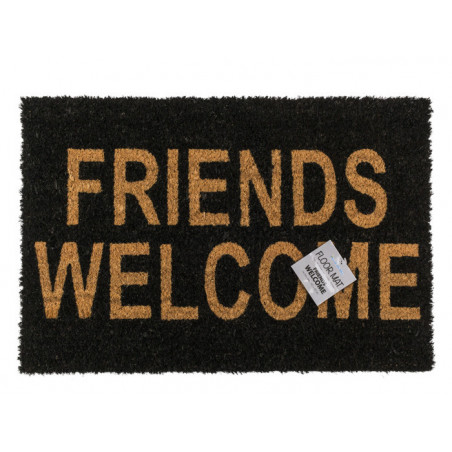 """Paillasson """"Friends welcome"""""""