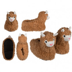 Chaussons confortables, Lama,